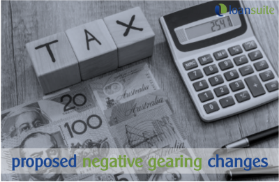 Proposed Negative Gearing Changes - Loansuite - Lending Specialists for Australian Expats & Residents
